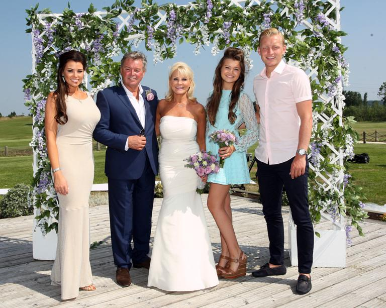 TOWIE\'s Carol, Mark Wright Snr renew vows - pictures