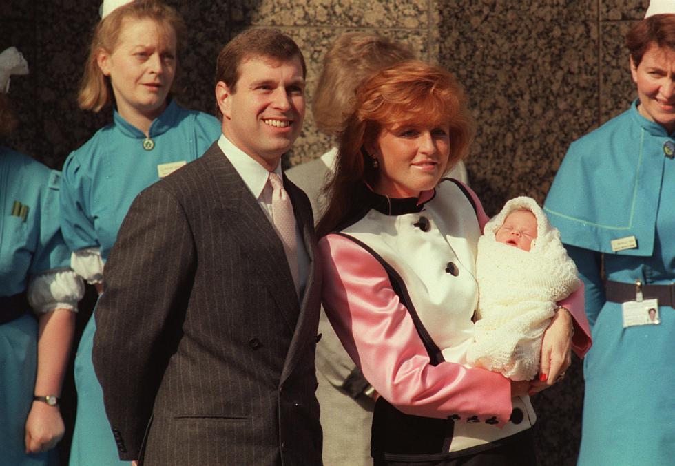 Znalezione obrazy dla zapytania princess eugenie birth