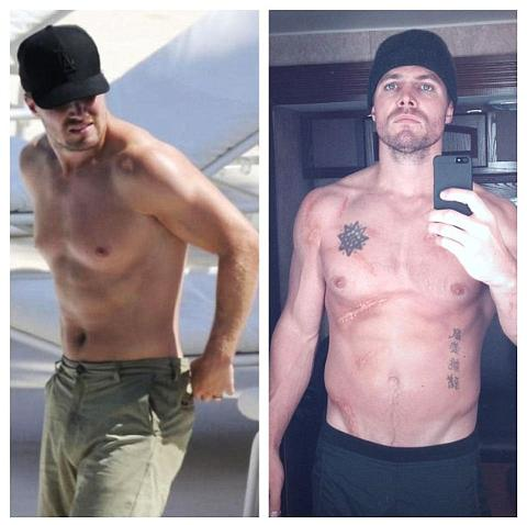arrow Stephen amell before