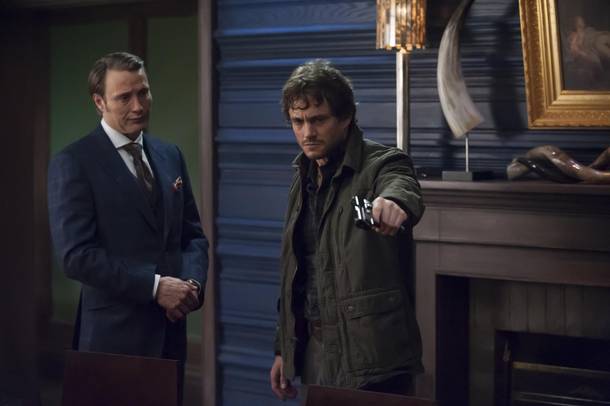 Mads Mikkelsen on 'Hannibal' bromance: 'It's definitely love'