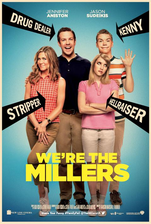 We Re The Millers Kissing Scene