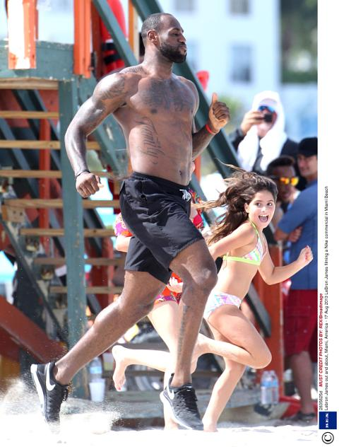 best sneakers f2b75 b3279 ... nike commercial 56673144c461887f058b4591 lebron james out and about  miami america 17 aug 2013 ... john legend ...