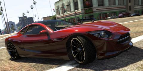 Grand Theft Auto 5 Khamelion Electric Car