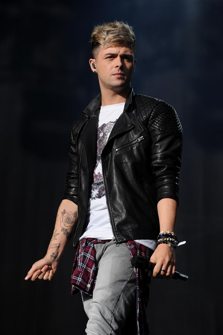 Jaymi Hensley Of Union J Performs On Stage During Day One The Fusion Festival At