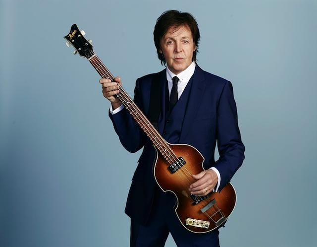 Paul McCartney Press Shot 2013