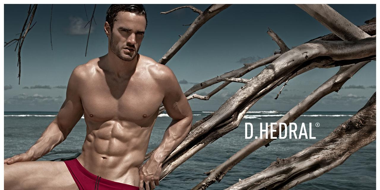 Thom Evans has a broken heart, but great abs in new underwear shoot