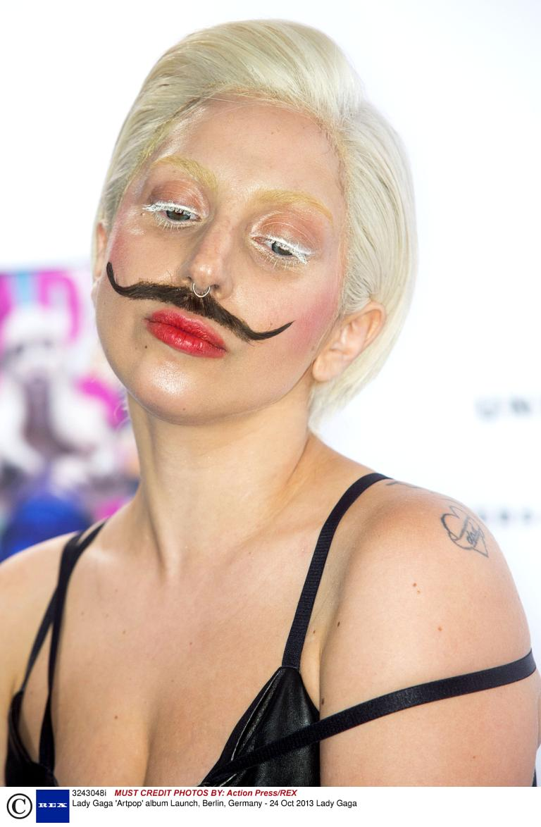 Lady Gaga Artpop Album Cover 2013