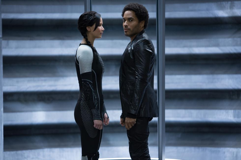Exclusive Photo: Lenny Kravitz as Cinna in '-The Hunger Games ...
