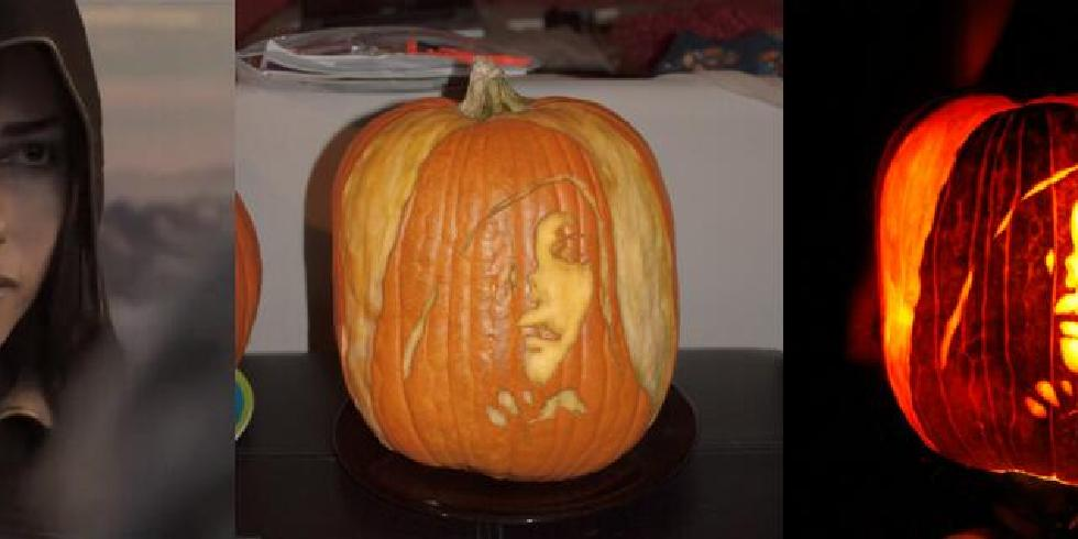 Dark souls pumpkin art