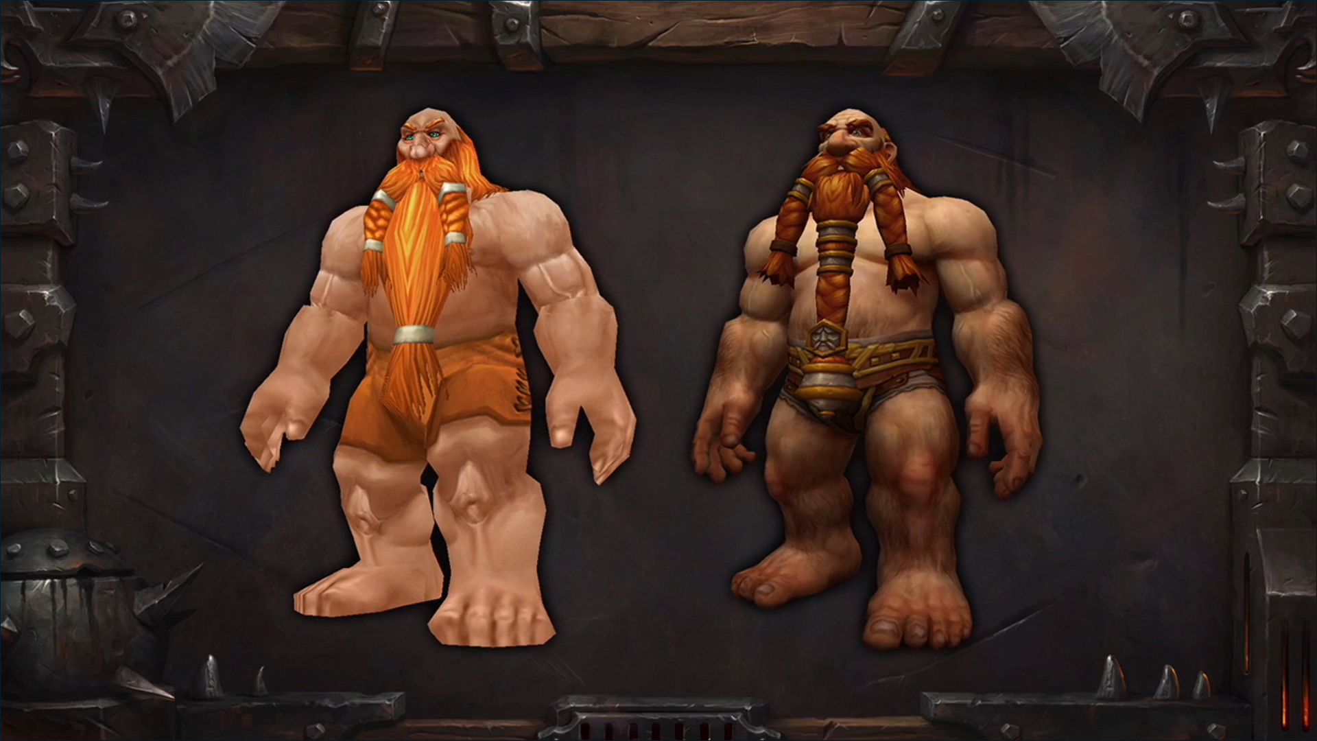 Warcraft Revamps Character Models