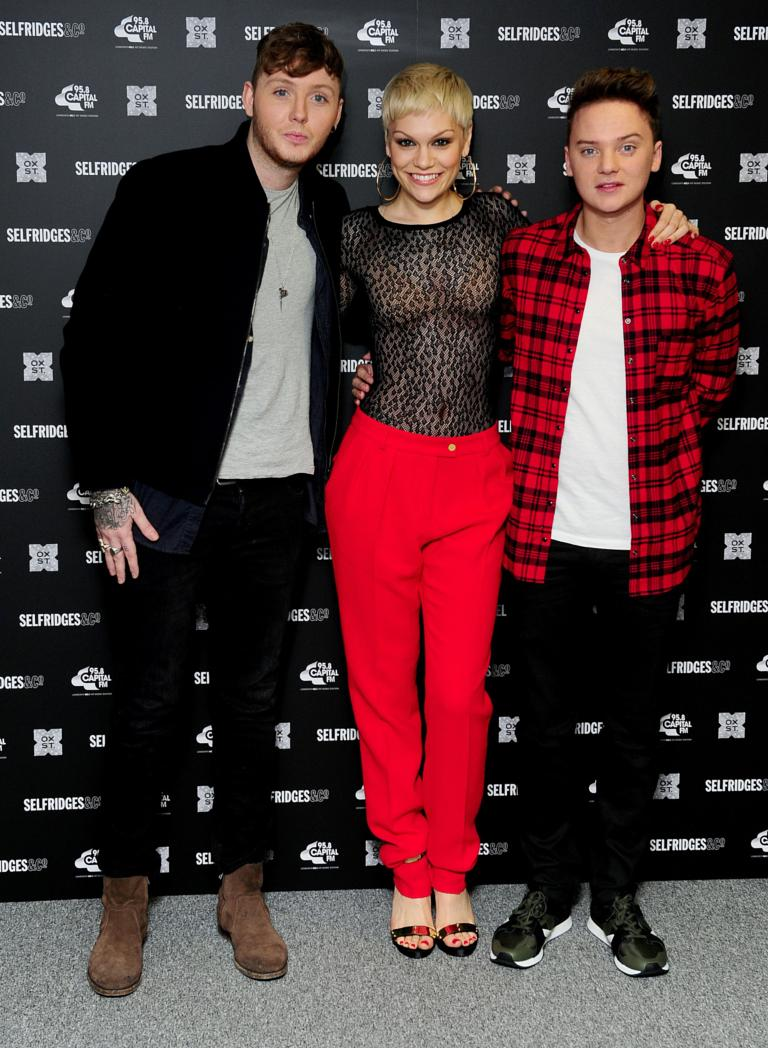Jessie J, James Arthur switch on Oxford Street Christmas lights