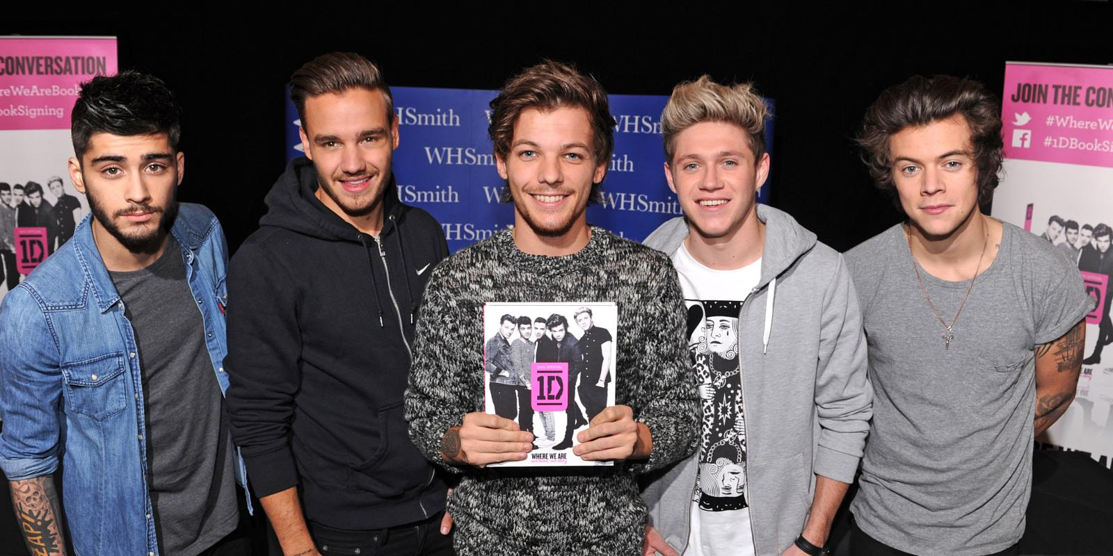 One Direction Detail: One Direction Announce 1D Day Details: Celine Dion, Robbie