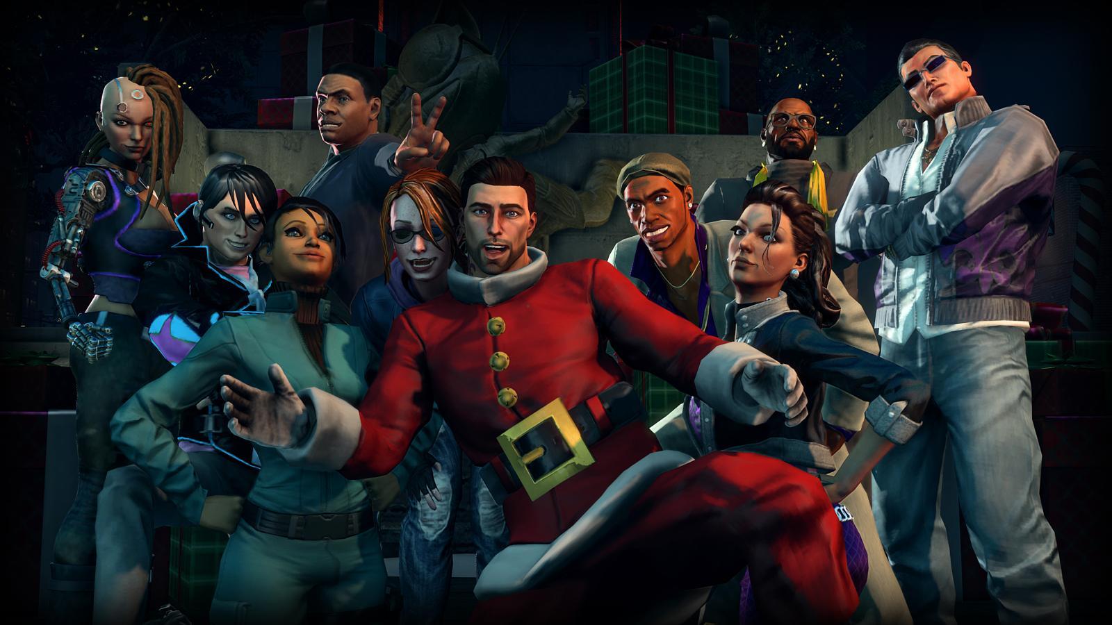 Saints Row 4: Christmas DLC screenshots