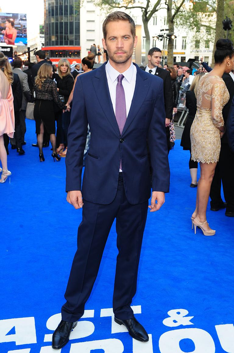 Paul walker arriving for the premiere of fast and furious 6 at the empire leicester square