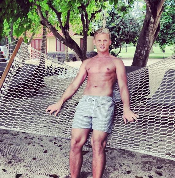 jeff brazier shirtless