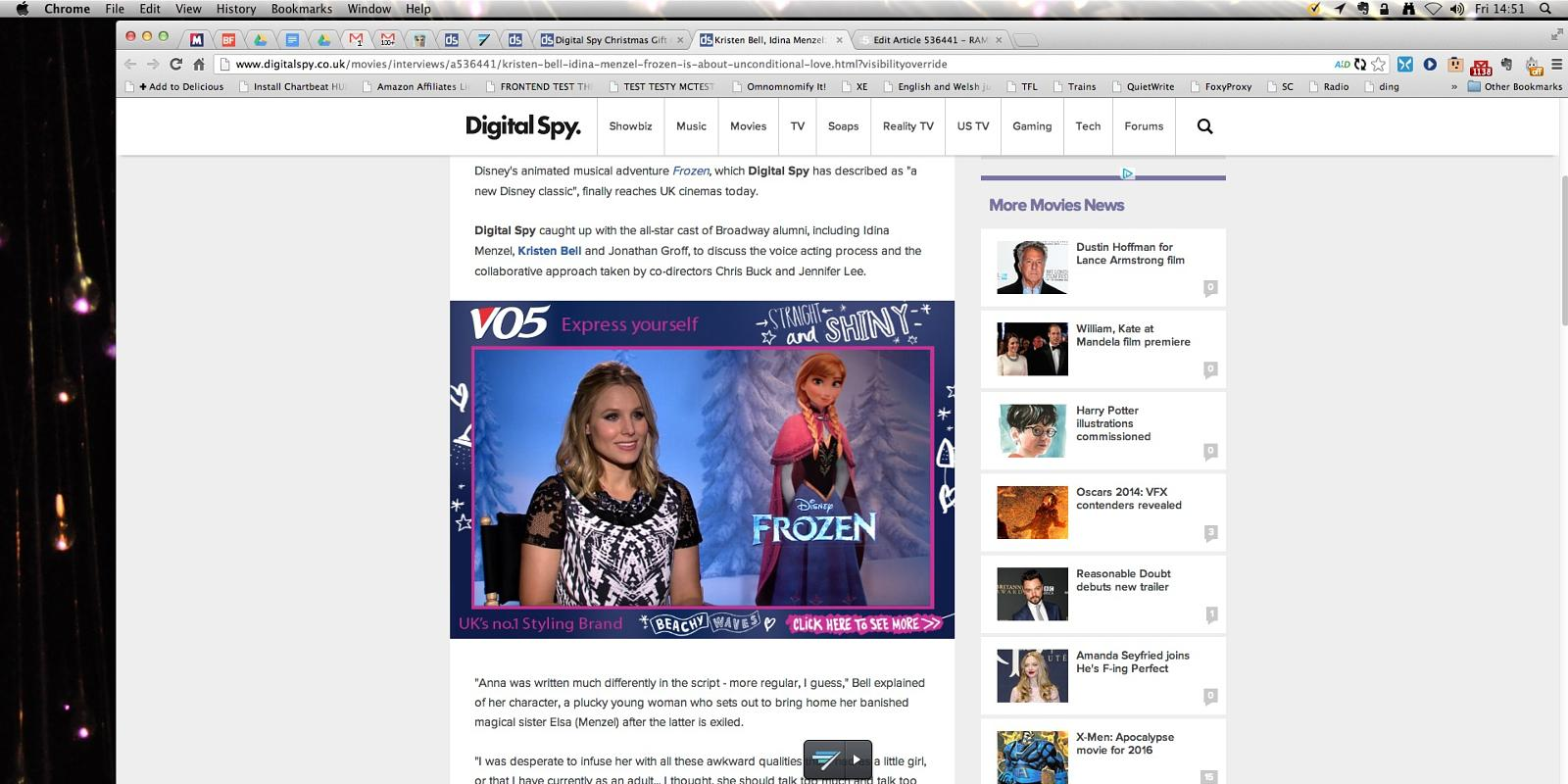 Kristen Bell, Idina Menzel: \'Frozen is about unconditional love\'