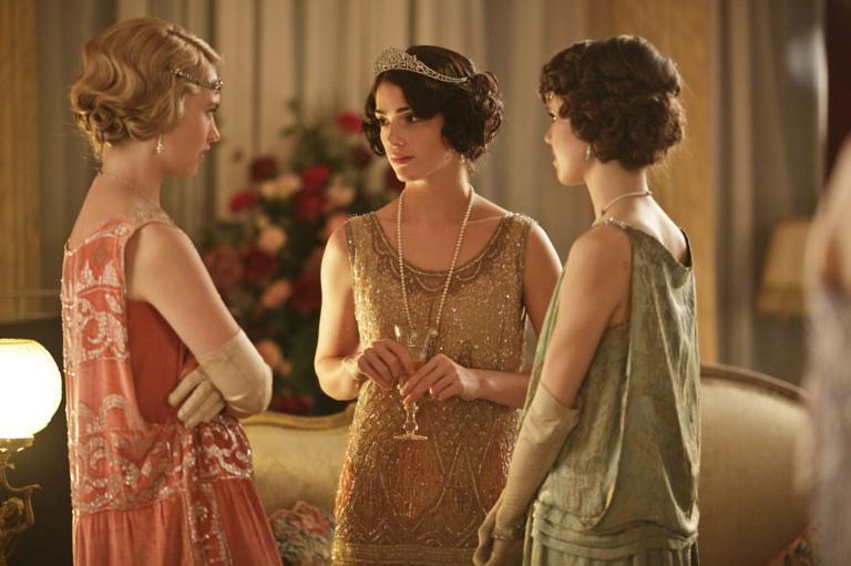 Lily James Downton Abbey Season 4