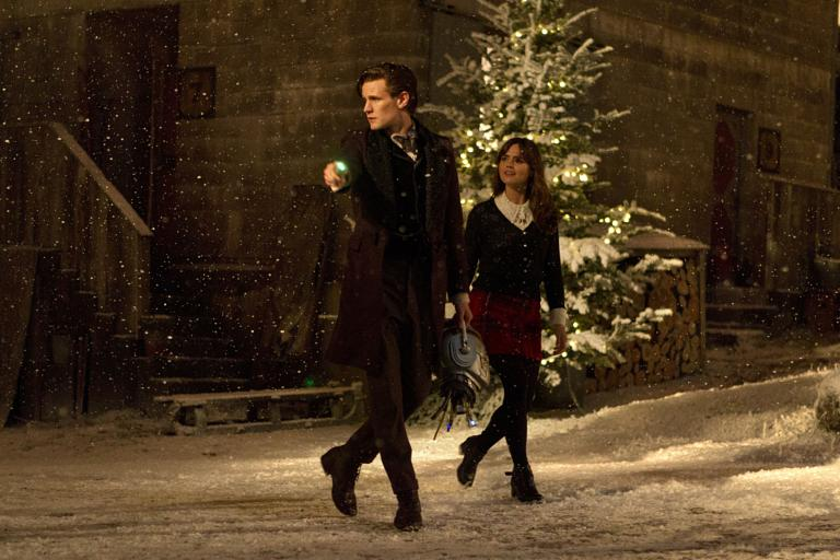 Doctor Who Christmas special breaks BBC America ratings record