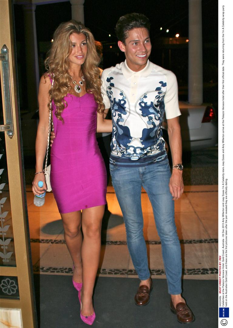 Joey essex dating amy willerton