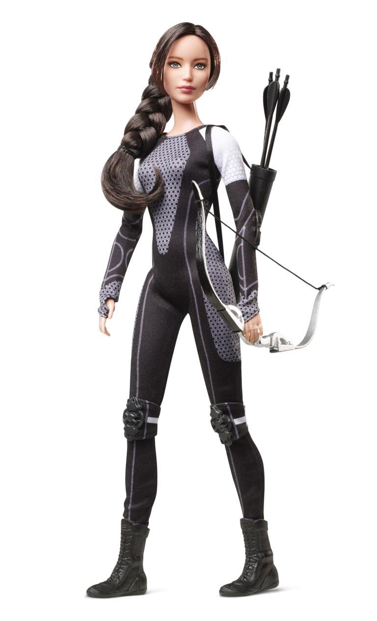 Katniss Everdeen Barbie  sc 1 st  Digital Spy & The Hunger Games - Katniss Peeta Effie and Finnick as Barbie dolls