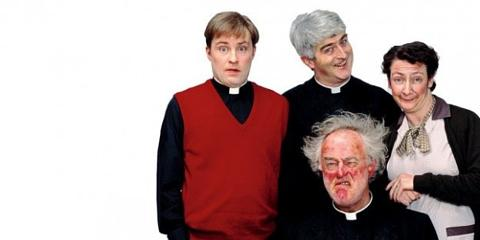father ted is coming back as a stage musical called pope ted