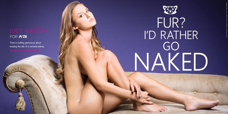 nude Lucy fur