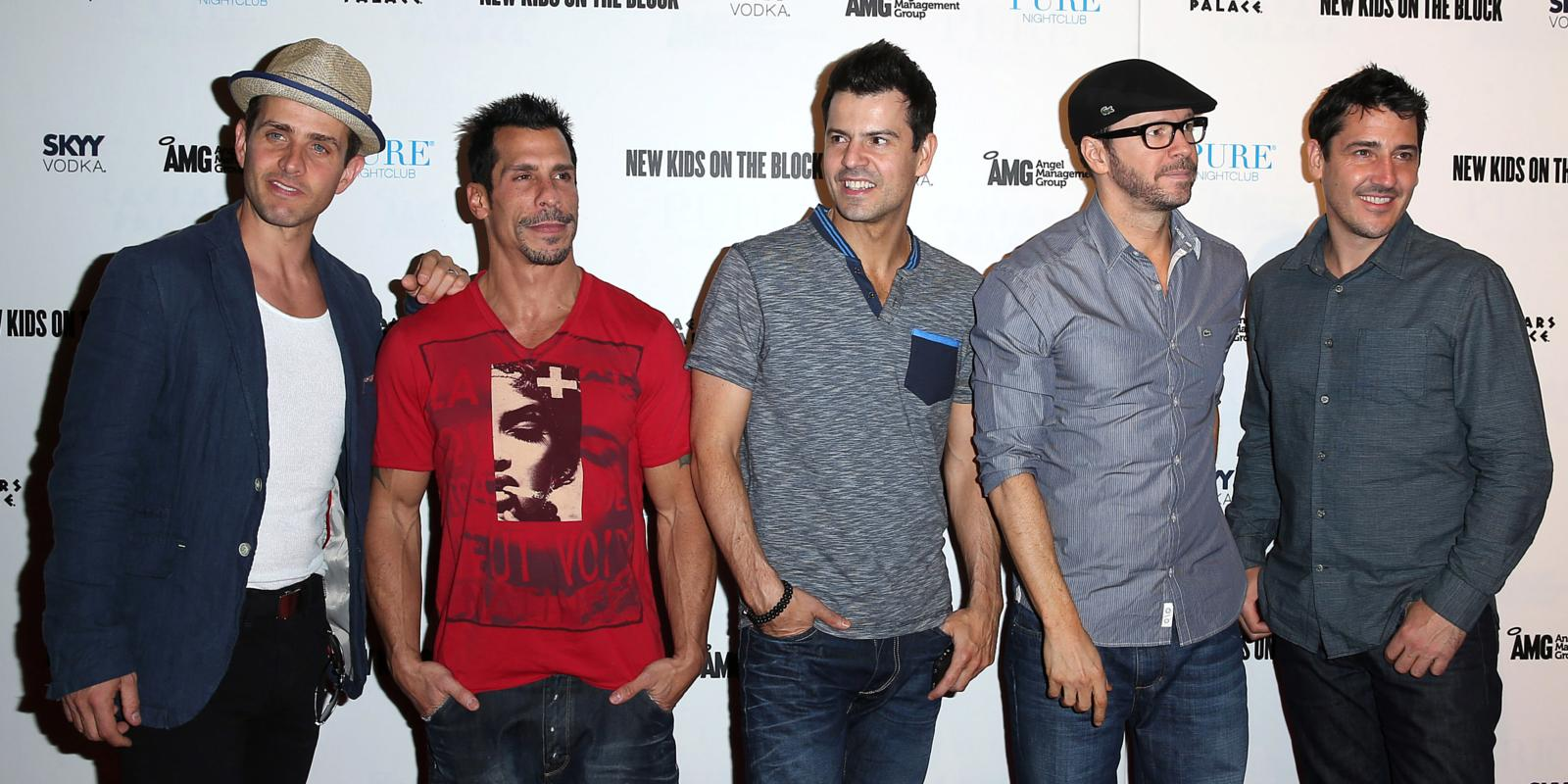 New Kids on the Block announce UK shows