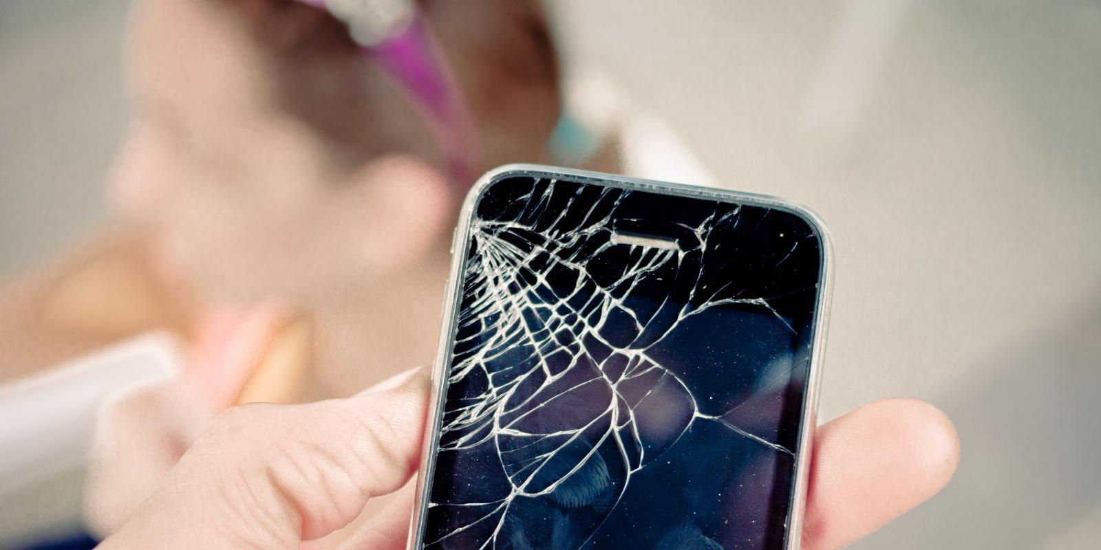 How do I get my broken iPhone screen fixed?