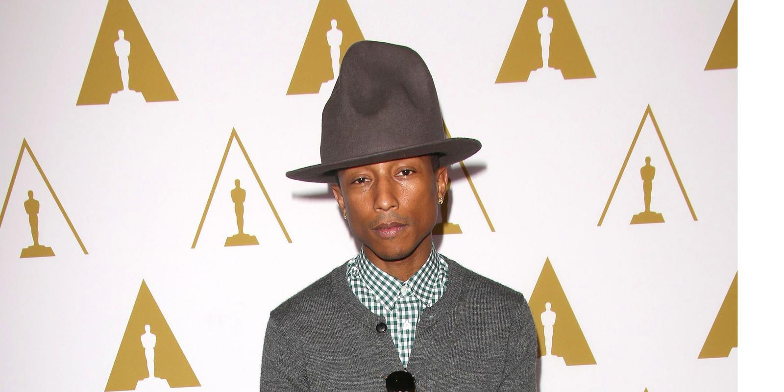 Pharrell Williams Holds On To Irish No1 With Happy