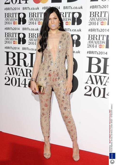 Jessie J Arriving For The  Brit Awards At The O Arena London