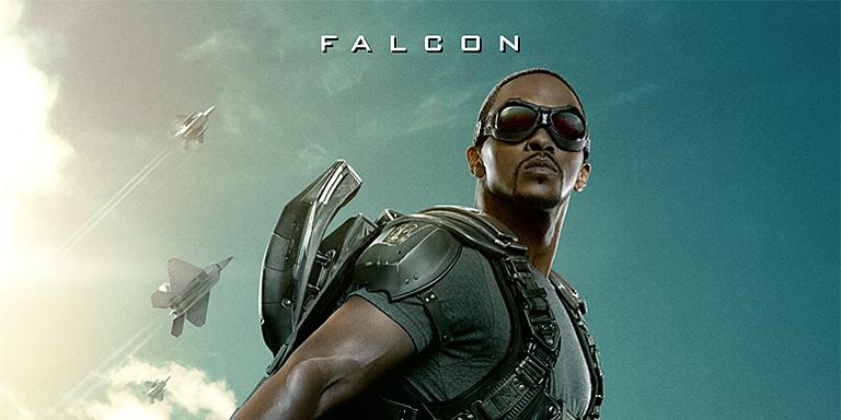 Captain America: The Winter Soldier - Anthony Mackie in ...