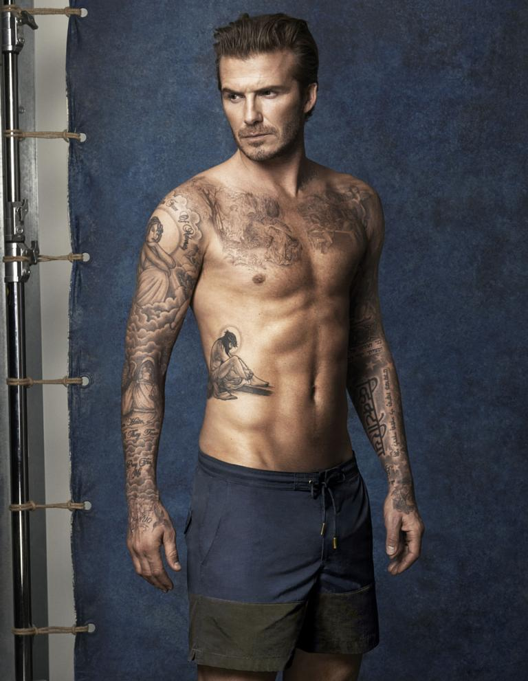 david beckan Naked pictures of