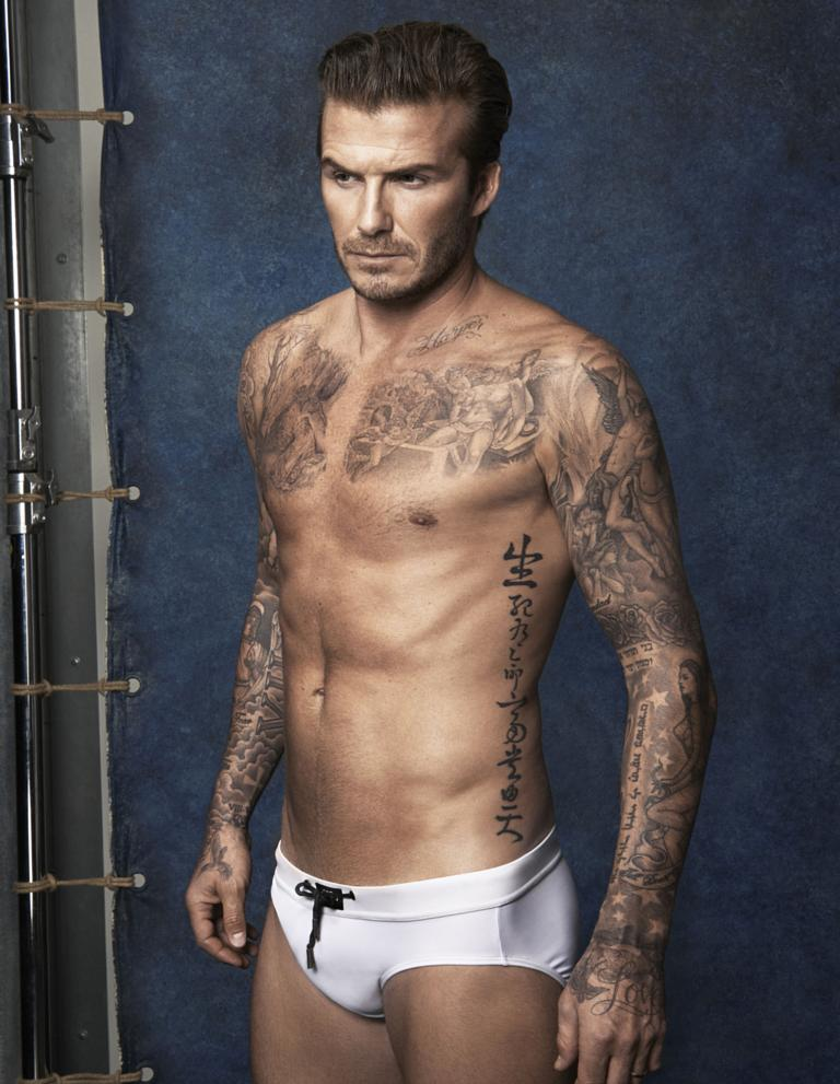 David Beckham is a sportsman. Football is his first career is very.
