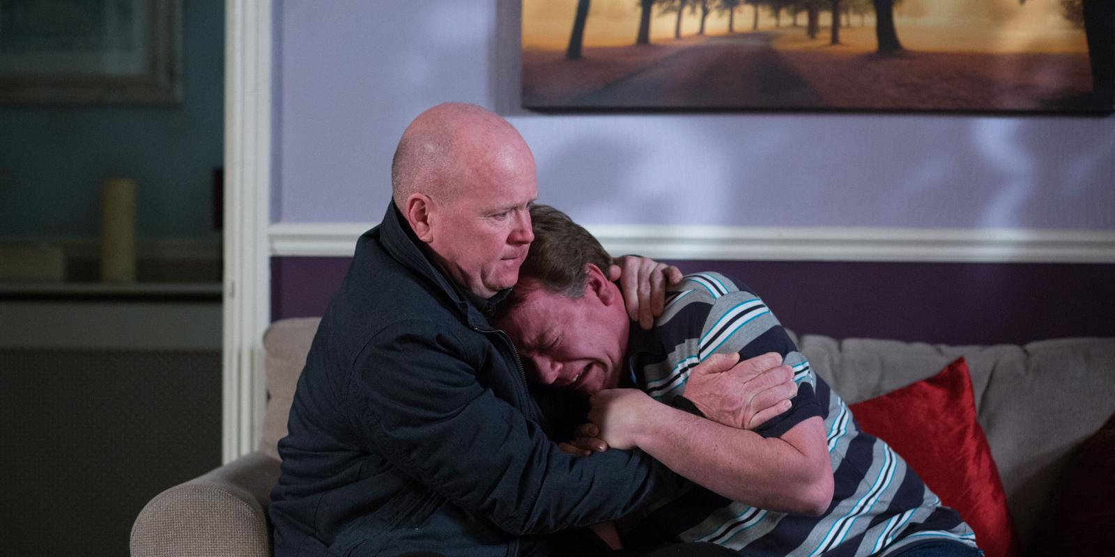 Eastenders Phil To Comfort Ian After Lucy S Death