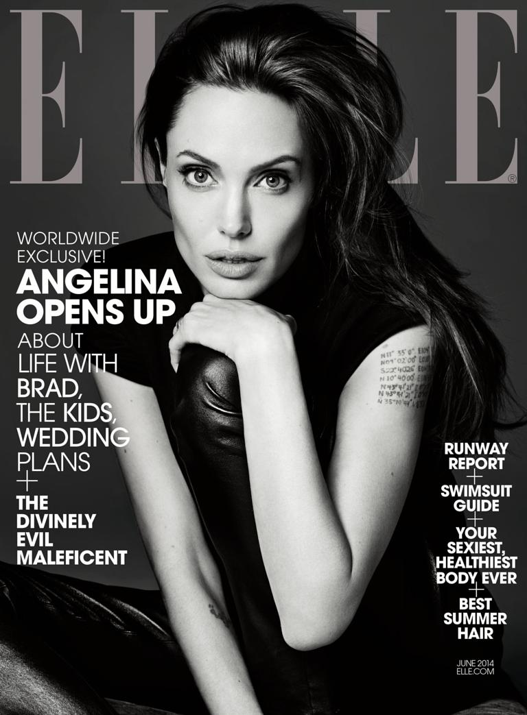 Ellecom Angelina Jolie Brad Pitt Drives Me Crazy But Were Deeply In Love