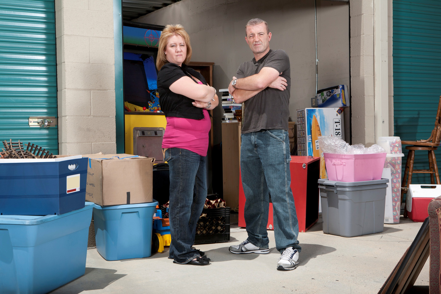 Storage Hunters stars Brandon and Lori tell all: 'We are real' Lori Bernier