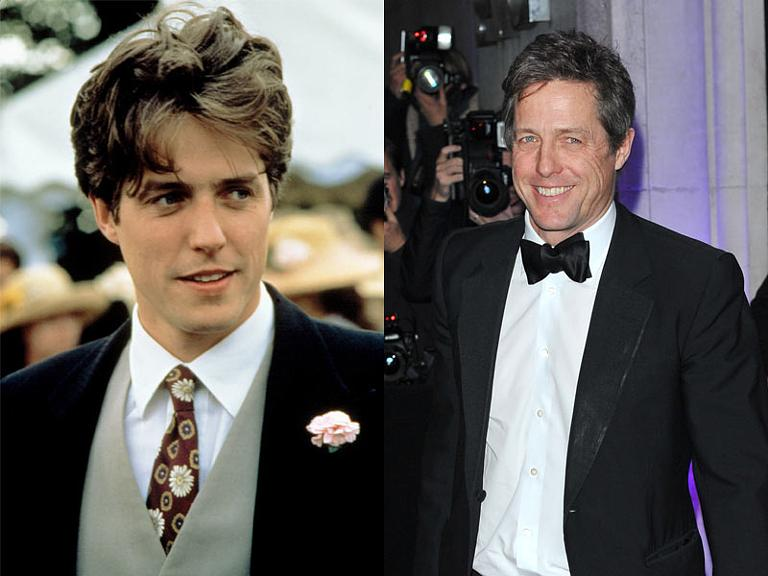 The Cast Of Four Weddings And A Funeral Then Now Hugh Grant
