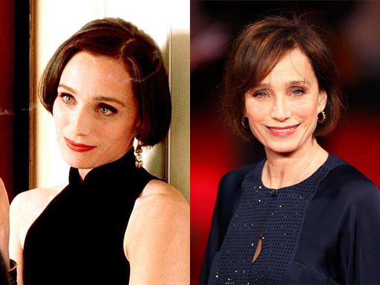 The Cast Of Four Weddings And A Funeral Then Now Kristin Scott Thomas