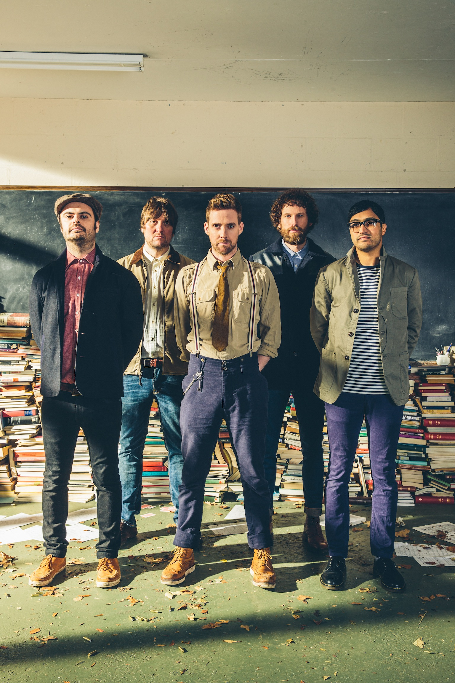 Kaiser Chiefs confirm Public Service Broadcasting as 2015 ...
