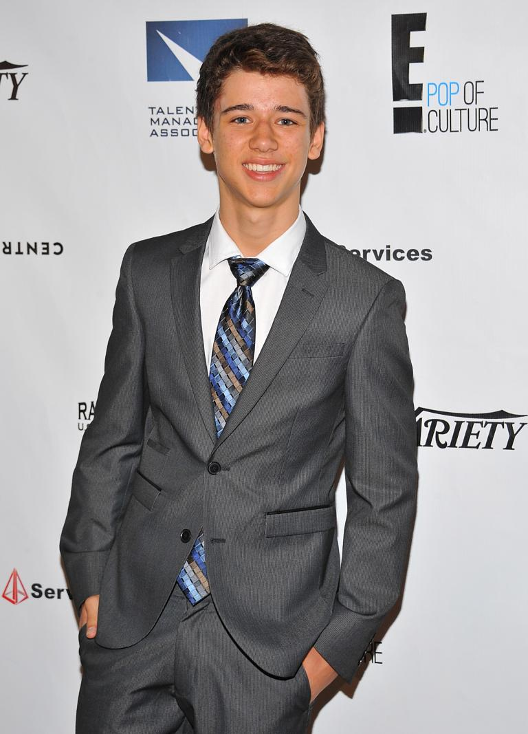 Boy meets world spinoff girl meets world casts corys younger brother uriah shelton attends the 12th annual heller awards altavistaventures Image collections