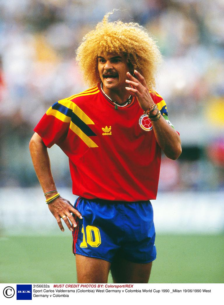 11 Worst World Cup Hairstyles In History Ronaldo Chris Waddle More