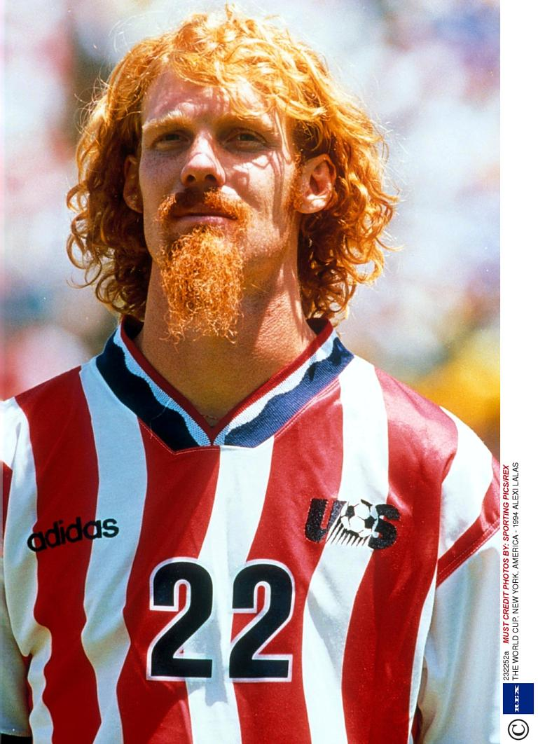Alexis Lalas a Usa 1994 (digital spy)