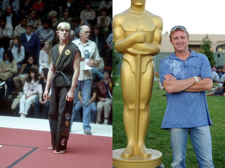 the cast of karate kid then and now william zabka - The Karate Kid Halloween Fight