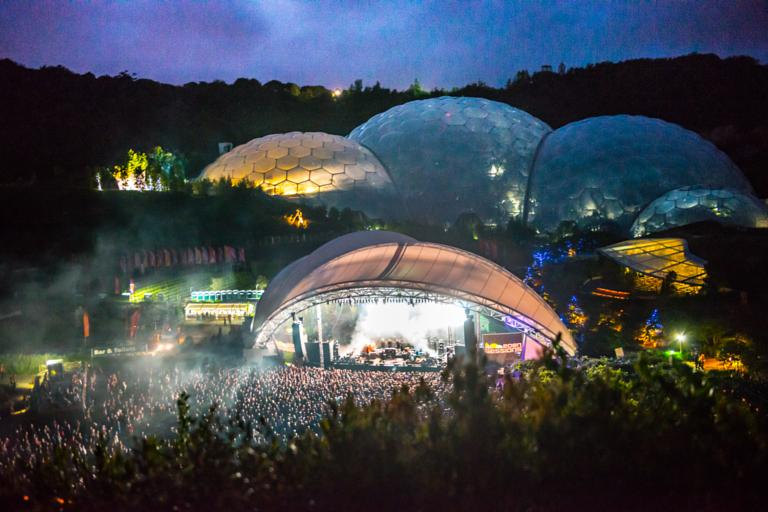 Sigur Ros Perform On Stage At Eden Sessions 2013