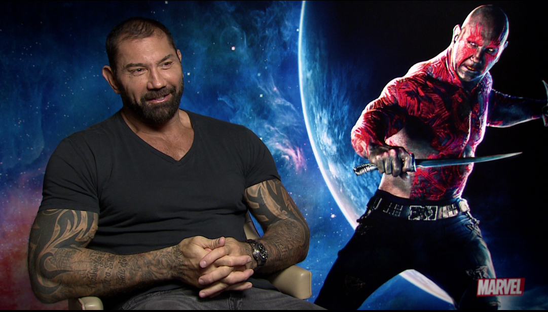 guardians of the galaxy dave bautista would love to