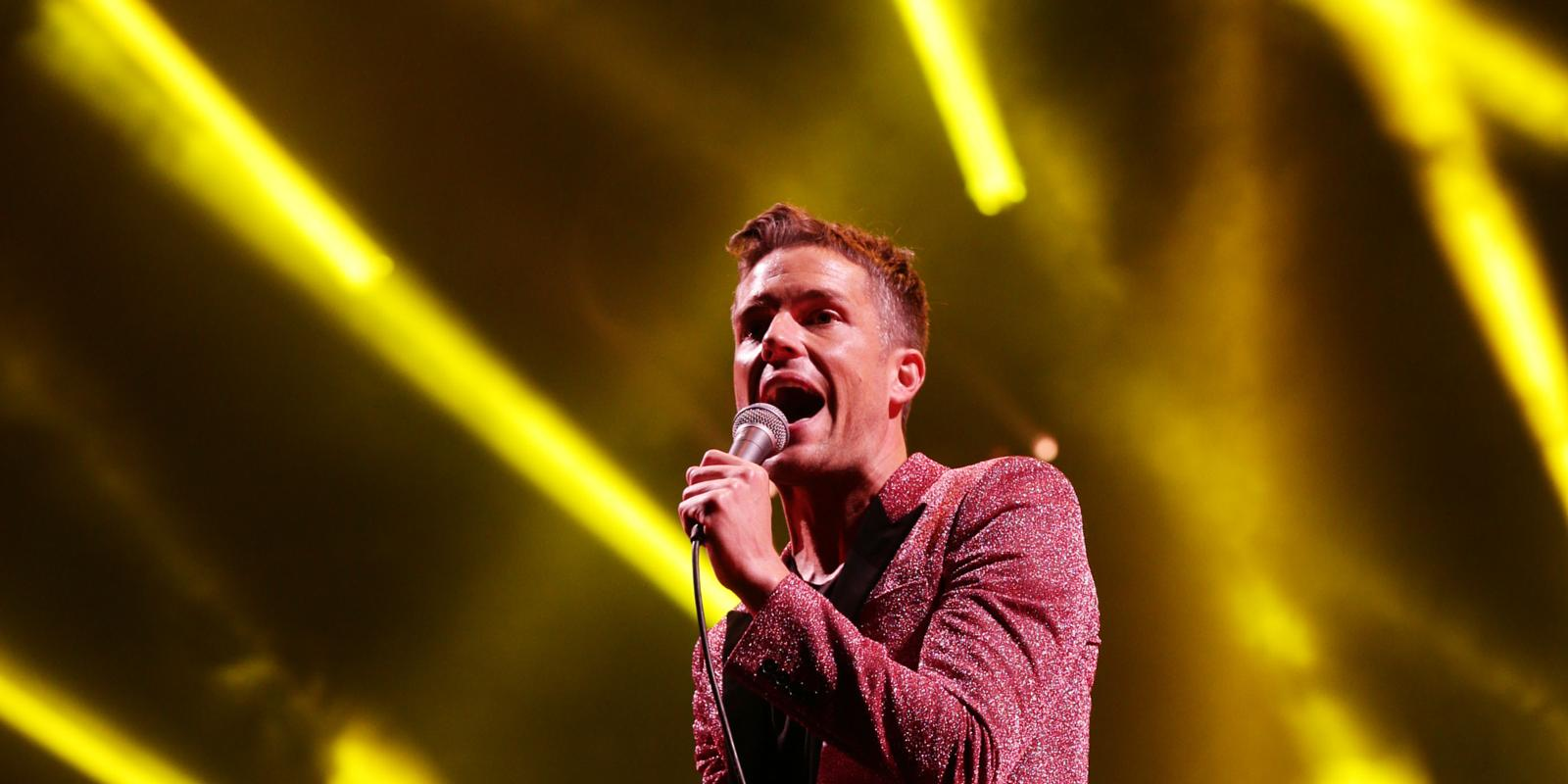 Brandon Flowers bigs up The Killers We re the best band in a long t