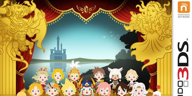 theatrhythm final fantasy curtain call review 3ds celebrates a franchise