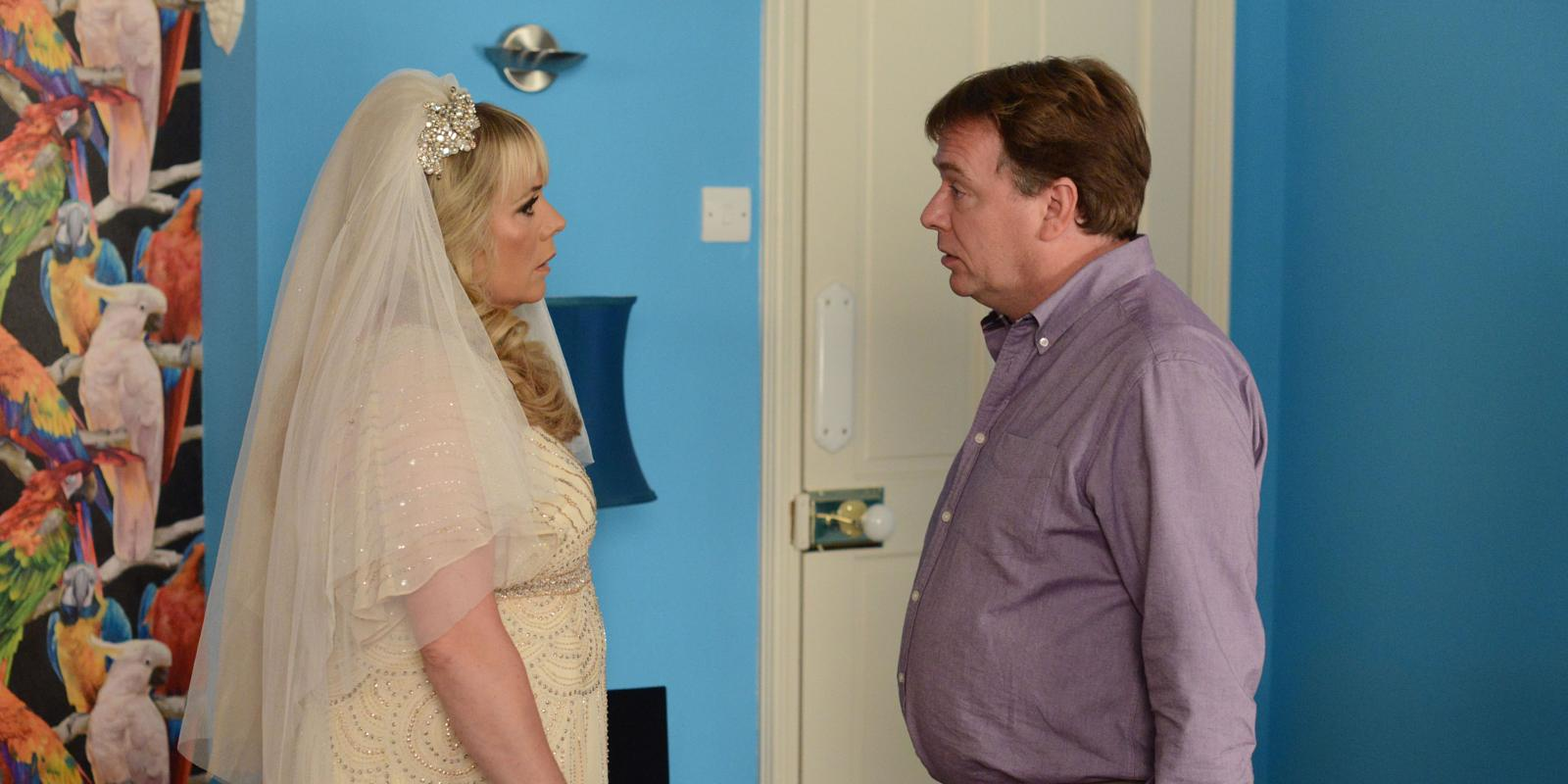 Eastenders sharon and phil wedding dresses