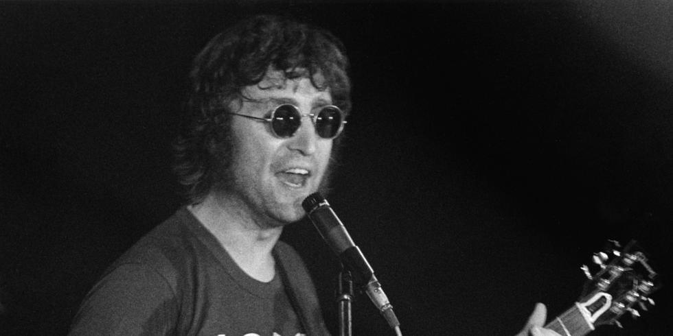 John Lennon Performing In New York City