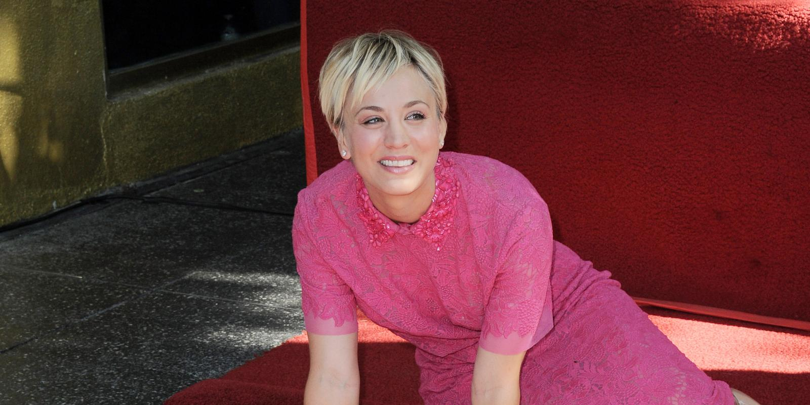 Kaley Cuoco Sweeting Forever Grateful For Hollywood Walk Of Fame Star
